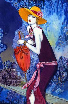 Art Deco Artist Helena Lam