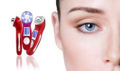 Groupon - Appareil ultrasons pour un rajeunissement complet du visage à 99,90 € (67% de réduction) . Prix Groupon : 99,90€