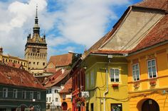 Falling in love with Sighisoara
