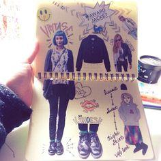 My fashion book♡