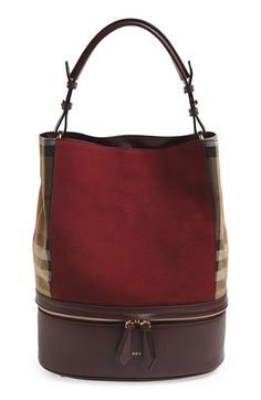 Free shipping and returns on Burberry 'Medium Beckett' Tote at Nordstrom.com. Crisp, check-print gussets and logo embossing add signature refinement to a pebbled-leather tote in a relaxed, street-chic profile.