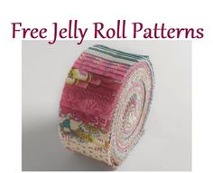 14 FREE Jelly Roll Patterns - Don't know what to make with those jelly rolls? Here's a list of 14 FREE jelly roll quilt patte - # Strip Quilt Patterns, Bargello Quilt Patterns, Jelly Roll Quilt Patterns, Beginner Quilt Patterns, Quilting For Beginners, Pattern Blocks, Quilting Ideas, Jelly Roll Quilting, Quilting Projects