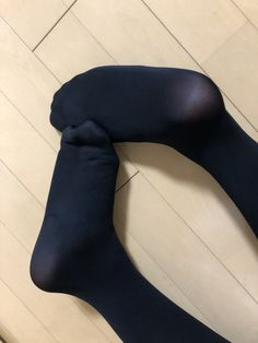 Pantyhose Outfits, Black Pantyhose, Black Tights, Black Stockings Outfit, Sexy Stockings, Lace Socks, Pink Socks, Toe Socks For Women, Girl Soles