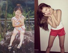 HyunA Posts Cute Childhood Photos of Herself | Koogle TV