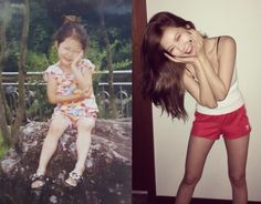 HyunA Posts Cute Childhood Photos of Herself | Koogle TV