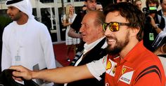 Now here's a driver announcement you won't often get as the former King of Spain Juan Carlos has confirmed Fernando Alonso is joining McLaren
