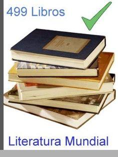 499 libros que no puedes dejar de leer [Español] | FreeLibros