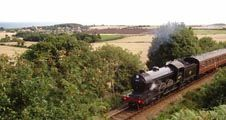 North Norfolk Railway - steam train trips through the North Norfolk area of outstanding natural beauty.