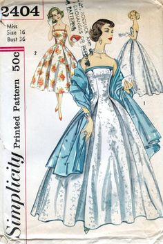 B6318 jupe 6-22 RETRO dress sewing pattern fifties sixties 60 S 50 S