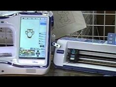 Scan and Cut Dream Machine - YouTube Brother Embroidery Machine, Machine Applique, Machine Embroidery Patterns, Embroidery Applique, Embroidery Thread, Embroidery Designs, Applique Designs, Duct Tape, Scan N Cut Projects