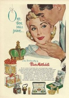 Prince Matchabelli Ad 1957 by vivian