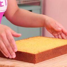 Easy Yellow Velvet Cake Recipe | Best Cake Recipe | How To Cake It | HOW TO CAKE IT Perfect Vanilla Cake Recipe, Vanilla Cake From Scratch, Homemade Vanilla Cake, Vanilla Cake Mixes, Homemade Cakes, Homemade Cake Frosting, Moist Vanilla Cake, Easy Sponge Cake Recipe, Sponge Cake Recipes