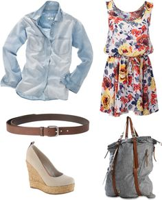 Fleur Bleue, created by cherry-garcia on Polyvore