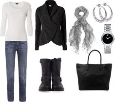 """""""Cozy Casual"""" by justmeng ❤ liked on Polyvore"""