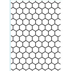 Darice® 5 x 7 Embossing Folder: Honeycomb Background