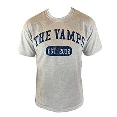 The Vamps Official Team Vamps Heather Grey Tee Shirt