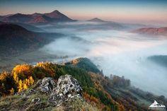 Autumn morning in Roháč, Slovakia