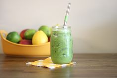 An Addicting Paleo Green Smoothie Recipe. Use as little fruit as is necessary to make it palatable.