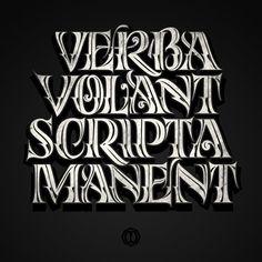"""""""Verba Volant, Scripta Manent"""" by Oxblack"""