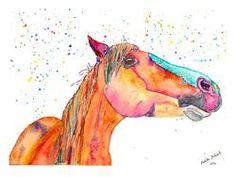 Original watercolour animal paintings – Page 2 – Malika Pet Art