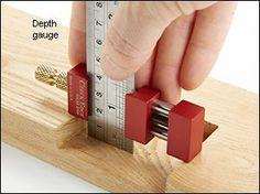 Czeck Edge™ Ruler Stop - Woodworking