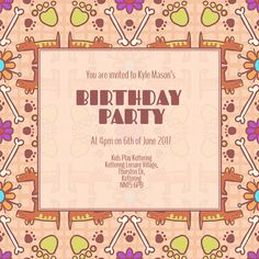 7 Best Boys Party Invitations