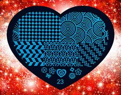 Nails - NAIL ART IMAGE STAMPING PLATE (HEART-SERIES) for sale in Virginia (ID:217271062) Stamping Plates, Nail Stamping, Nail Art Images, Virginia, Nails, Heart, Creative, Licence Plates, Finger Nails