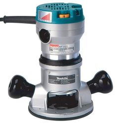 Bosch 1 hp variable speed fixed corded router woodworking makita rf1101 2 14 horsepower variable speed router makita http keyboard keysfo Images
