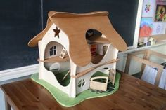 Wooden Doll House | Waldorf Dollhouse