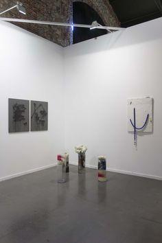 Estampa - Pau Sampera  Solo exhibition at Galeria Fran Reus' stand at Estampa 2015 Art Fair (Matadero Madrid).  September 2015.
