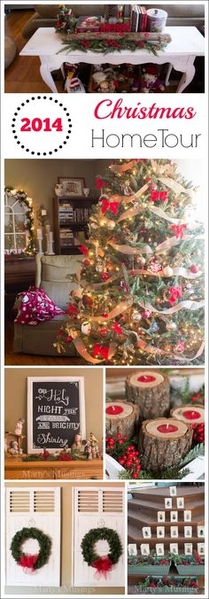 Blogger Marty's Musings dispels the myth that a beautiful home has to be large or expensive to be charming and welcoming. Come see her 2014 Christmas home tour featuring amazing yard sale finds, clever repurposed projects and DIY decor. With practical tips Marty proves you can have a beautiful home as well!