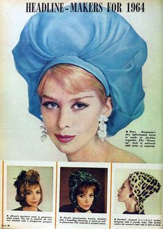 1964 hats