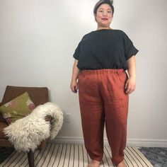 Sculthorpe Pants Sewing Pattern PDF – Muna and Broad