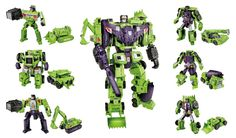 This is a special series of the transformers. Unrivaled strength and unchecked rage make DEVASTATOR a fearsome destructive force who will crush everything in his path!