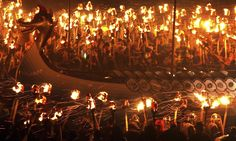 Up Helly Aa: Europe's largest fire festival | Travel | The Guardian