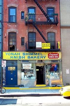 Yonah Schimmel's Knish Bakery in Brooklyn  Rent-Direct.com - No Fee Apartment Rentals in New York City