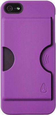 Nixon Carded iPhone 5 Case - purple - Accessories > Audio/Mobile > iPod/iPhone Accessories > iPod/iPhone Cases