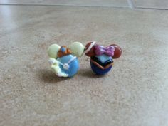 Elsa and Anna Mouse Inspired Polymer by SiennasBowtique on Etsy