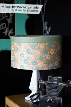 hatbox lampshade