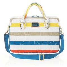 Pretty Nylon Striped Commuter Bag by Marc by Marc Jacobs, $98