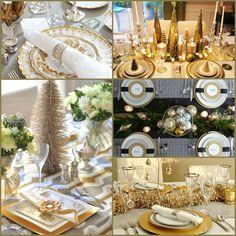 Christmas Table Settings Round-Up: 27 Fabulous Ideas | Decorating Files | #christma #christmastableideas
