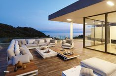 Viteo Pure Lounge Garden Sofas designed by Wolfgang Pichler, Austria. Outdoor Lounge Furniture, Outdoor Seating, Outdoor Decor, Lounge Chairs, Deck Furniture, Outdoor Areas, Outdoor Rooms, Modern Furniture, Pure Lounge