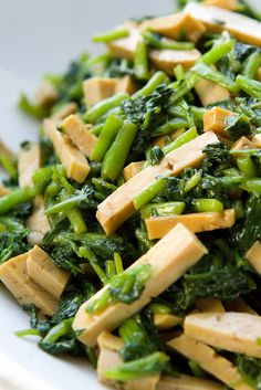 Bean Curd and Watercress Salad « FoodMayhem