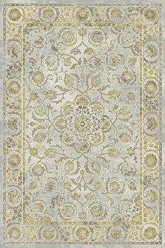 Royal Treasure 90267 135 Amber/Mocha Rug