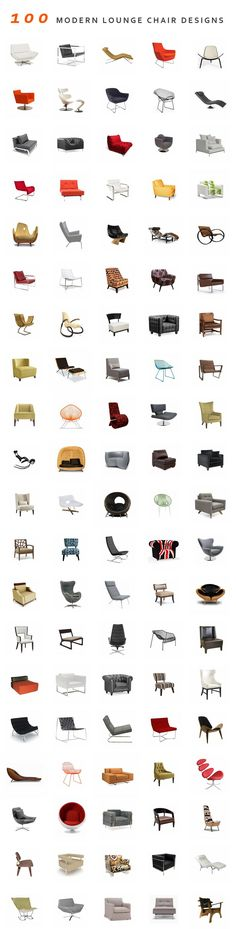 100 Modern Lounge Chair Designs...