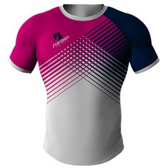 Designed and manufactured in the UK by Scorpion Sports. Rugby Shirt 61 is available in either pro, semi pro or traditional fit