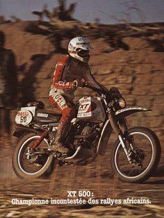 Cyril Neveu Yamaha 500 XT - Paris Dakar 1980