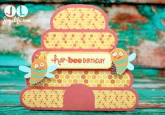Lettering Delights - Birthday Bee Gift Bag