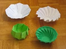 Modelli e Diagrammi Origami