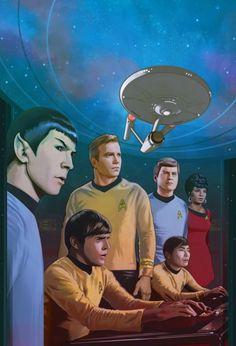 Star Trek: Gold Key Archives Vol. 2 by strib on DeviantArt Star Trek Ring, Star Trek 1, Star Trek Books, Star Trek Characters, Star Trek Original Series, Star Trek Series, Star Trek Wallpaper, Star Trek Theme, Star Trek Posters